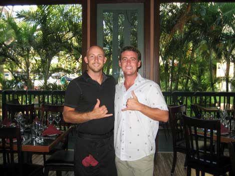 Cody Christopher at Three's Bar & Grill in Kihei