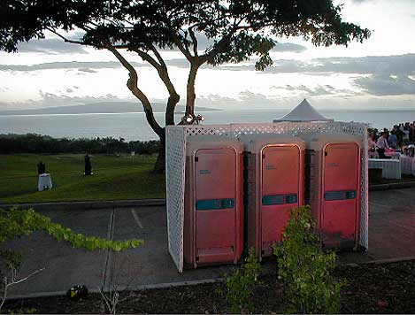 Standard Unit from Pacific Portables at a Wedding
