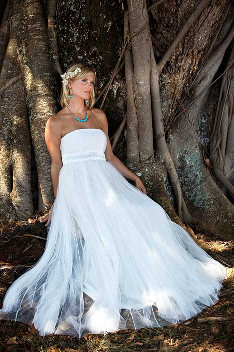 Tamara Catz Tulle Wedding Gown