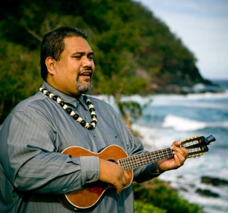 Hawaiian Ukulele Player