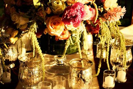 Bella Bloom Bridal Table Setting
